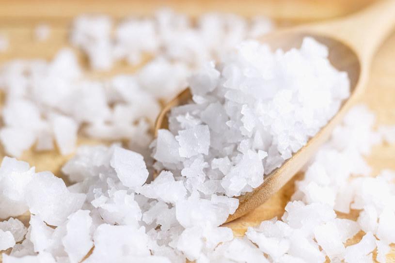 Sól morska to jedno z najbogatszych źródeł jodu /123RF/PICSEL