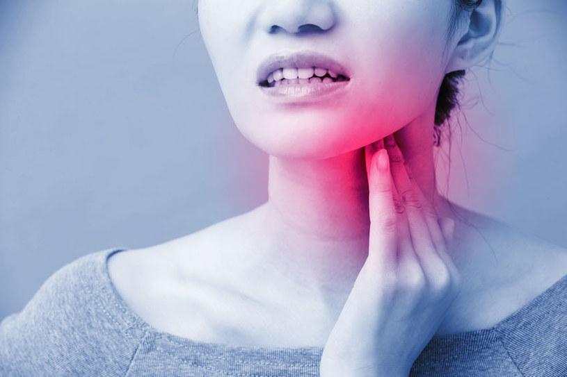 Sól na ból gardła /©123RF/PICSEL