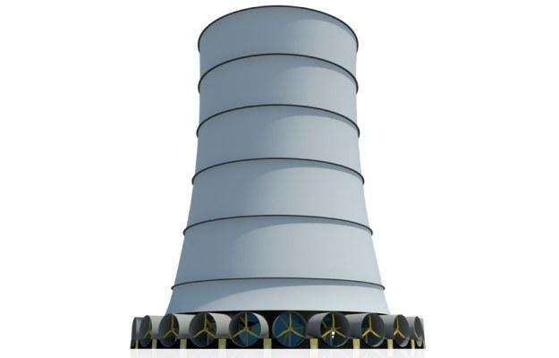 Solar Wind Downdraft Tower.  Fot. Clean Wind Energy /materiały prasowe