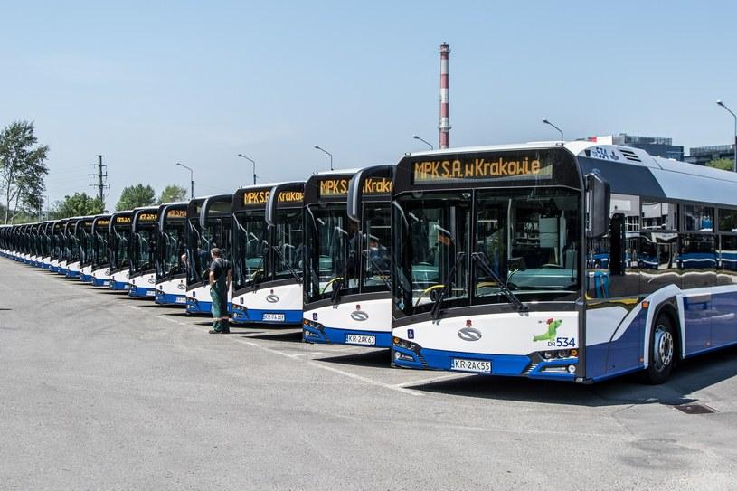 Solarisy Urbino 18 jeżdżą m.in. po Krakowie /Jan Graczyński /East News