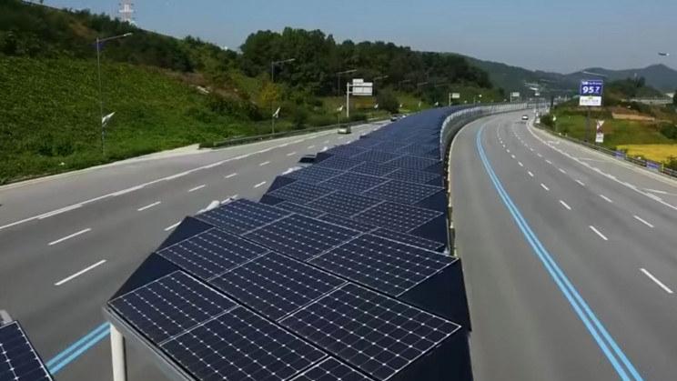 Solarna autostrada rowerowa w Korei /materiały prasowe