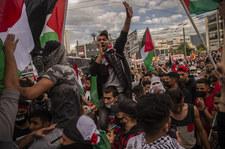 Solidaryzują się z Palestyńczykami. Manifestacje w Europie