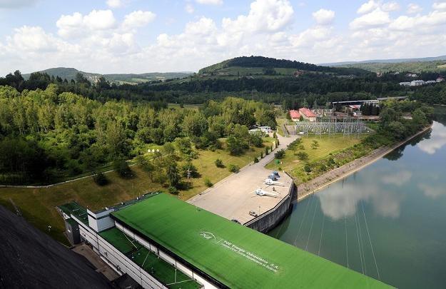Solina - zapora i elektrownia. Fot. Piotr Charchula /Reporter