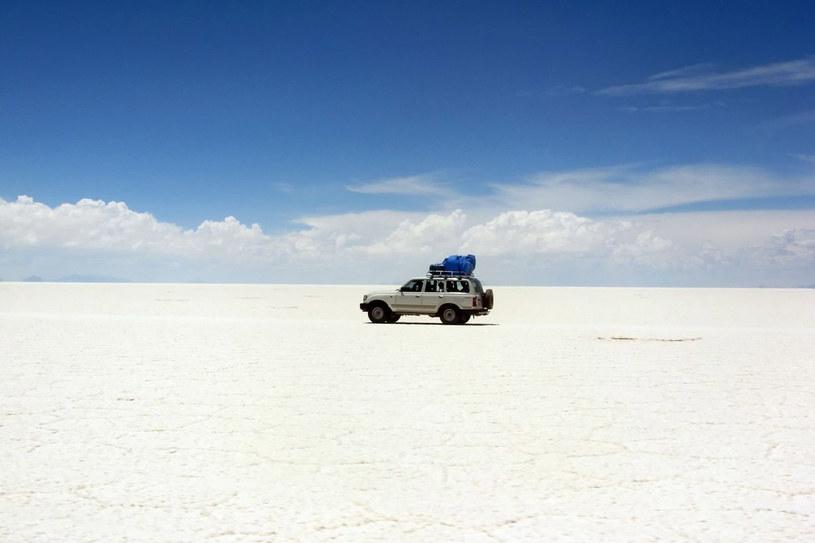Solnisko w okolicach Uyuni jest największe i położone najwyżej na świecie /123RF/PICSEL