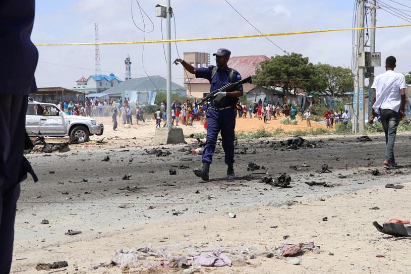 Somalia: 16 osób zginęło w dwóch zamachach terrorystycznych /Abdirazak Hussein FARAH /AFP
