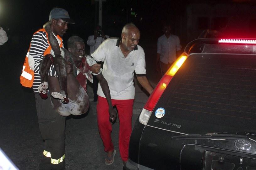 Somalia: Zamach na hotel. Kilkanaście ofiar śmiertelnych /PAP/EPA