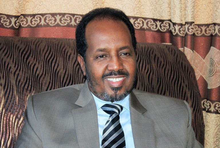 Somalijski prezydent Hasan Szejk Mohamud /AFP