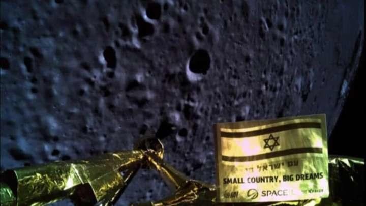 Sonda Beresheet rozbiła się na Księżycu /materiały prasowe
