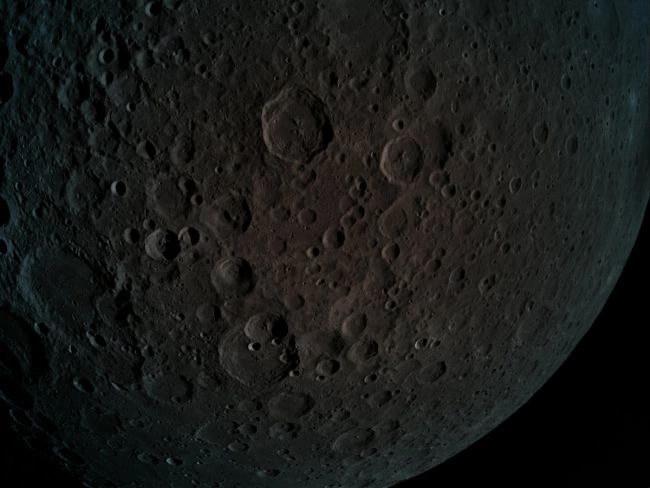 Sonda Beresheet wykonała to zdjęcie 4 kwietnia 2019 roku z wysokości 470 km /materiały prasowe
