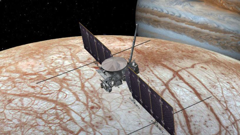 Sonda Europa Clipper zostanie wystrzelona między 2023 a 2025 r. /NASA