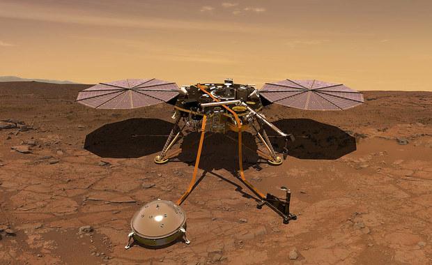 Sonda InSight wylądowała na Marsie. To była ostra jazda...