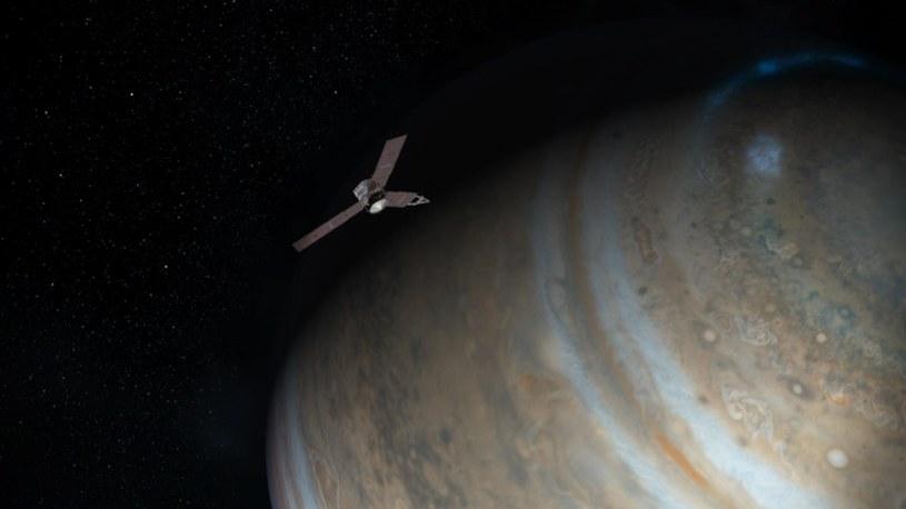 Sonda Juno zbliża się do Jowisza /NASA