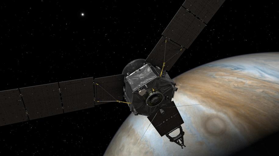 Sonda Juno /NASA/JPL-Caltech /materiały prasowe