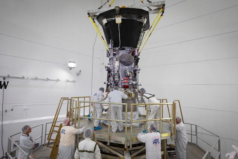 Sonda kosmiczna Parker Solar Probe zbada Słońce /NASA/Johns Hopkins /PAP/EPA