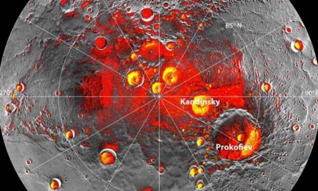 Sonda Messenger potwierdziła występowanie wody na Merkurym /NASA