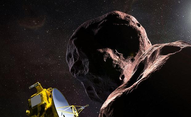 """Sonda New Horizons """"odezwała się"""" po przelocie obok Ultima Thule"""
