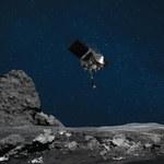 Sonda OSIRIS-REx pobrała próbkę asteroidy Bennu. Zobacz ten moment!