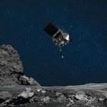 Sonda OSIRIS-REx pobrała próbki z Bennu