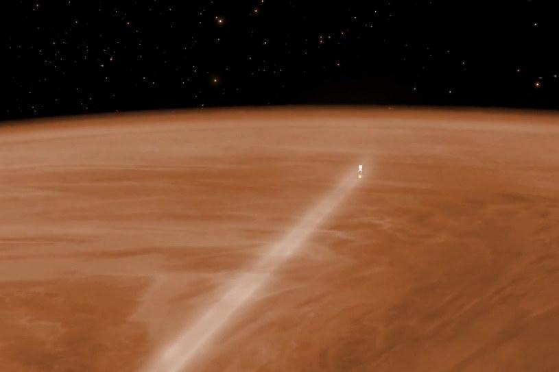 Sonda Venus Express jest gotowa do wejścia w gęstą atmosferę Wenus. /materiały prasowe