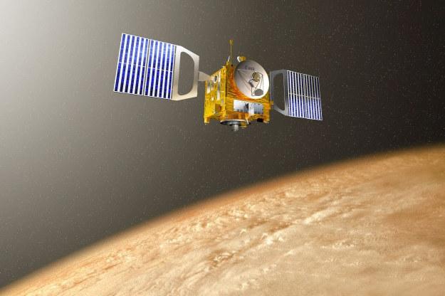 Sonda Venus Express zakończy misję w 2014 roku /AFP