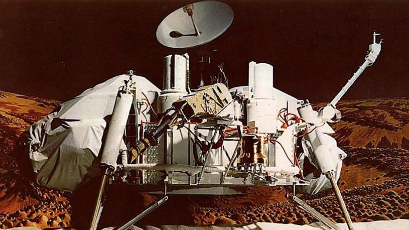 Sonda Viking mogła znaleźć ślady związków organicznych na Marsie /NASA