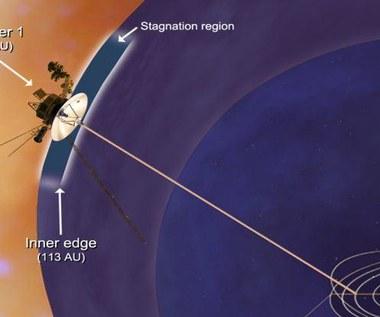 Sonda Voyager 1 w kosmicznym czyśccu