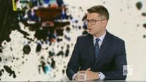 """Sondaż dla """"Wydarzeń"""". Piotr Müller w """"Graffiti"""": Trudno powiedzieć, czy to efekt Donalda Tuska"""