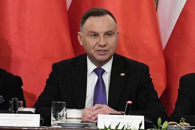 Sondaż dla Onetu: Andrzej Duda prowadzi w wyścigu prezydenckim /Piotr Nowak /PAP