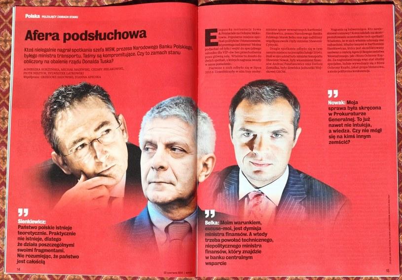 Sondaż po aferze taśmowej /Stanisław Kowalczuk /East News