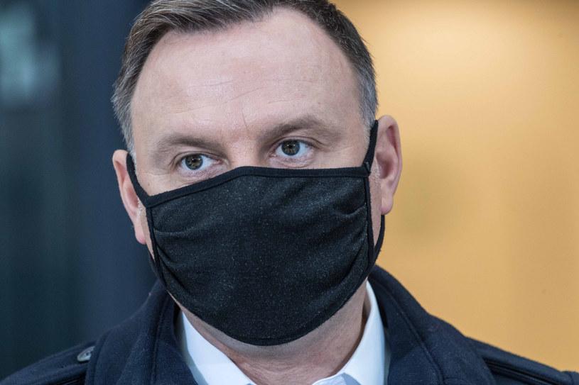 Sondaż pokazał najgorszy odbiór prezydentury Andrzeja Dudy od objęcia przezeń urzędu w 2015 roku /Jacek Dominski/ /Reporter