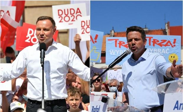 Sondaż prezydencki: Duda z minimalnie wyższym poparciem od Trzaskowskiego