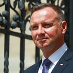 Sondaż zaufania: Prezydent Andrzej Duda przed premierem Mateuszem Morawieckim