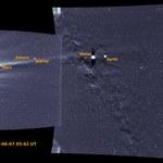 Sondy kosmiczny uchwyciły Ziemię z daleka