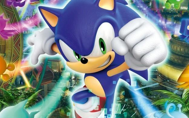 Sonic Colors - motyw graficzny /Informacja prasowa