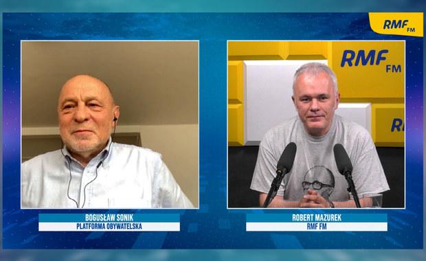 Sonik o debacie wokół przywództwa Budki: Bunt oficerów pokładowych