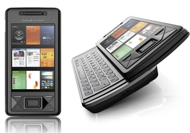Sony Ericsson Xperia X1 działa pod kontrolą Windowsa Mobile 6.1 /materiały prasowe