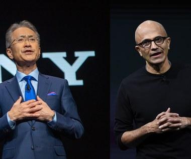 Sony i Microsoft łączą siły, by rozwijać technologie