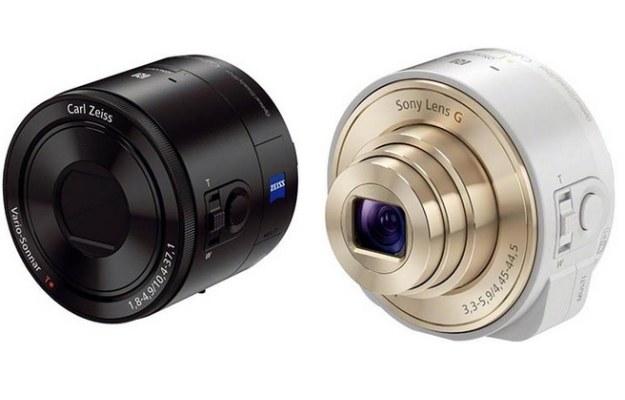Sony Smart Shot QX-100 oraz Sony Smart Shot QX-10 /materiały prasowe