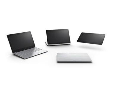 Sony Vaio Fit - laptop typu multi-flip