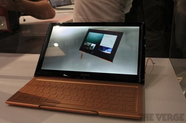 Sony VAIO U to koncept, który wkrótce może pojawić się w sprzedaży (Fot. The Verge) /Internet