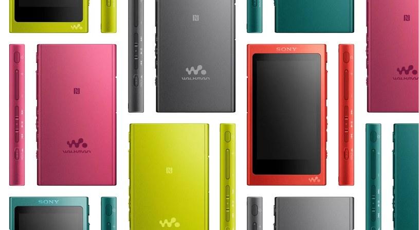 Sony Walkman NW-A35 /materiały prasowe