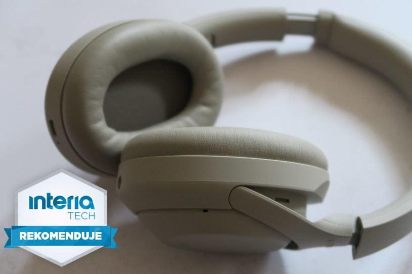 Sony WH1000XM4  otrzymują REKOMENDACJĘ serwisu Interia Nowe Technologie /INTERIA.PL