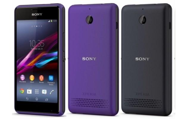 Sony Xperia E1 dual /materiały prasowe