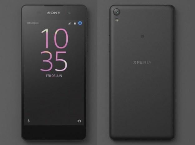 Sony Xperia E5 /materiały prasowe