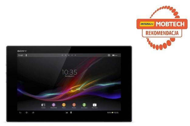 Sony Xperia Tablet Z otrzymał rekomendację serwisu Mobtech.interia.pl /materiały prasowe