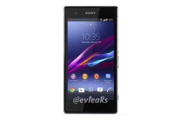 Sony Xperia Z1S (Fot. @evleaks) /materiały prasowe