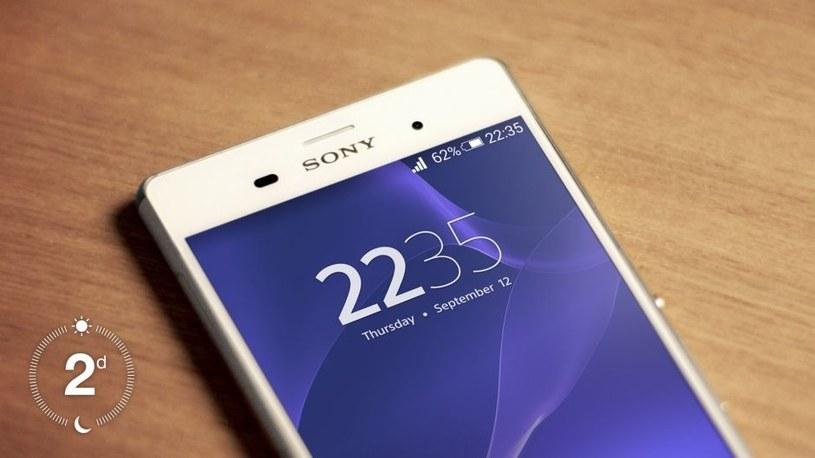 Sony Xperia Z3 z dala od gniazdka zasilania wytrzyma ponad 2 dni użytkowania /materiały prasowe
