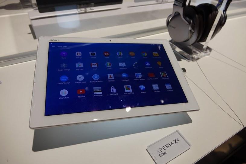 Sony Xperia Z4 Tablet /INTERIA.PL