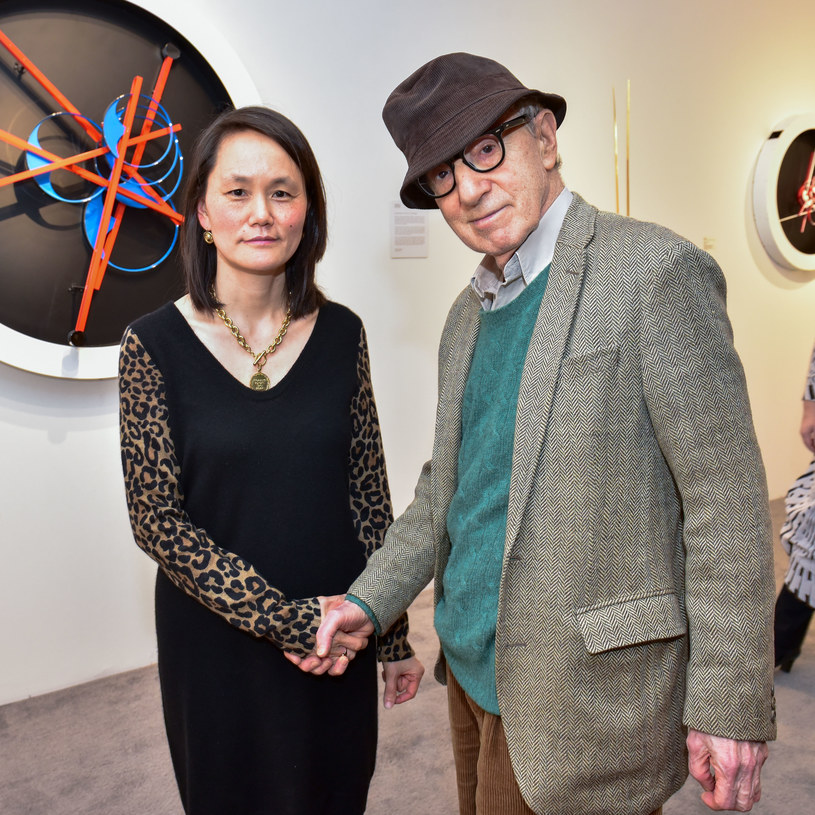 Soon-Yi Previn i Woody Allen /Sean Zanni  /Getty Images