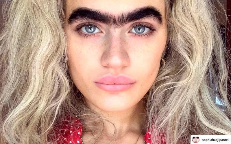 Sophia fachowo określana jest mianem modelki alternatywnej lub charakterystycznej /instagram.com/sophiahadjipanteli /Instagram